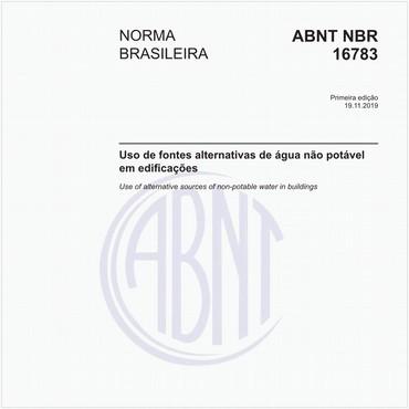 NBR16783 de 11/2019