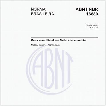NBR16689 de 11/2019