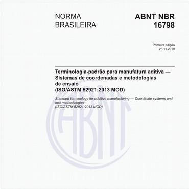 NBR16798 de 11/2019