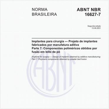 NBR16627-7 de 12/2019