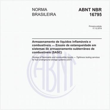 NBR16795 de 12/2019