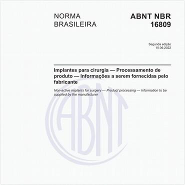 NBR16809 de 12/2019