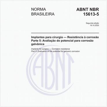 NBR15613-5 de 01/2016