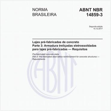 NBR14859-3 de 12/2017