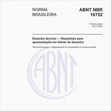 NBR16752 de 01/2020