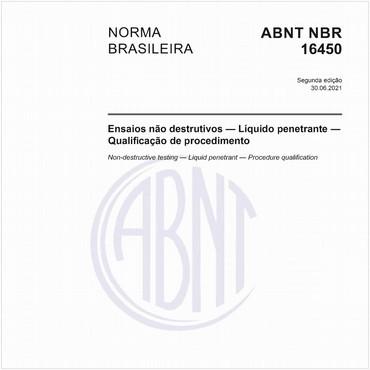 NBR16450 de 02/2016