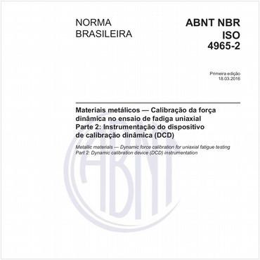 NBRISO4965-2 de 03/2016