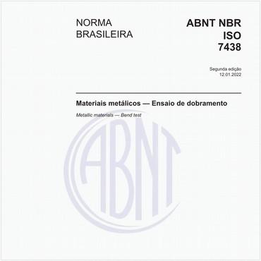 NBRISO7438 de 03/2016