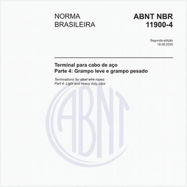 NBR11900-4 de 04/2016