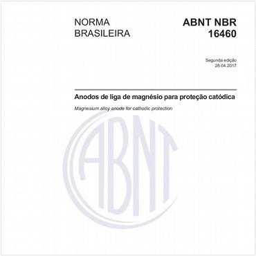 NBR16460 de 04/2017