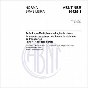NBR16425-1 de 04/2016
