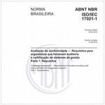 NBRISO/IEC17021-1