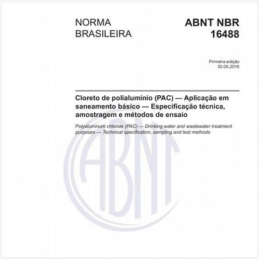 NBR16488 de 05/2016