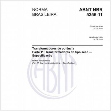 NBR5356-11 de 05/2016