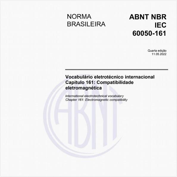 Vocabulário eletrotécnico internacional - Capítulo 161: Compatibilidade eletromagnética