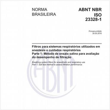 NBRISO23328-1 de 05/2016