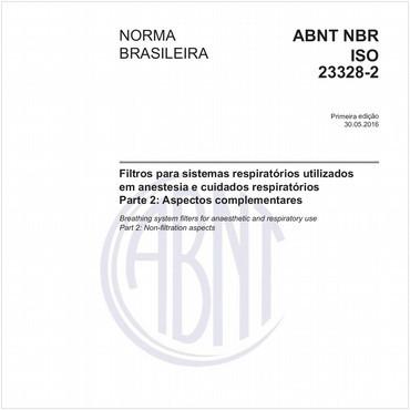 NBRISO23328-2 de 05/2016