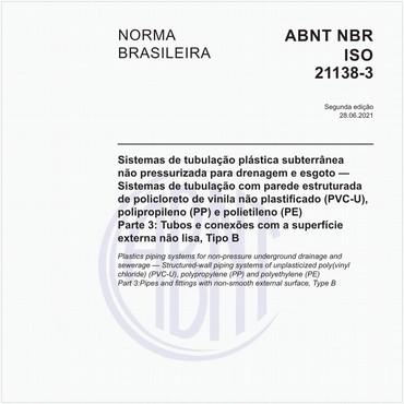 NBRISO21138-3 de 05/2016