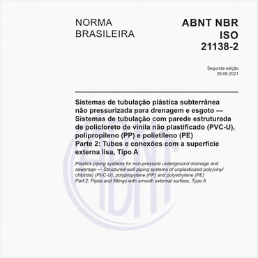NBRISO21138-2 de 05/2016