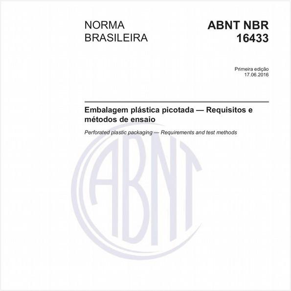 Embalagem plástica picotada - Requisitos e métodos de ensaio