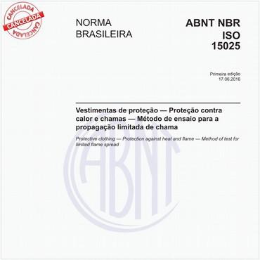 NBRISO15025 de 06/2016