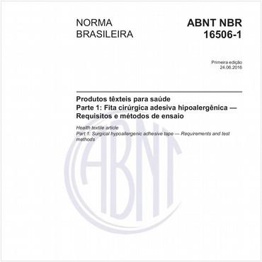 NBR16506-1 de 06/2016
