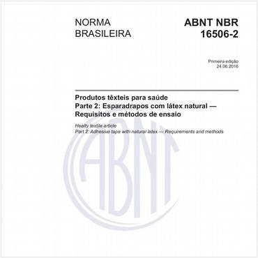 NBR16506-2 de 06/2016