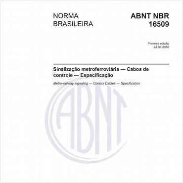 NBR16509 de 06/2016
