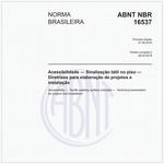 NBR16537 de 06/2016