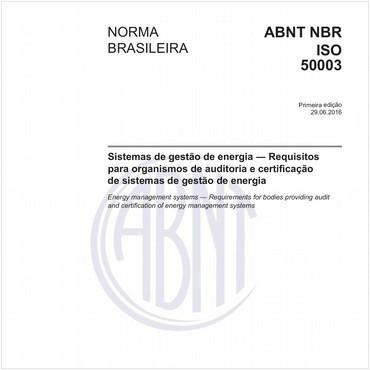 NBRISO50003 de 06/2016
