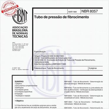 NBR8057 de 03/1984