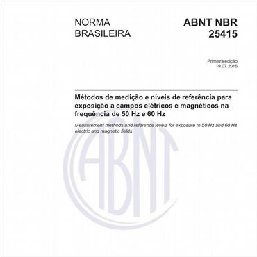 NBR25415 de 07/2016
