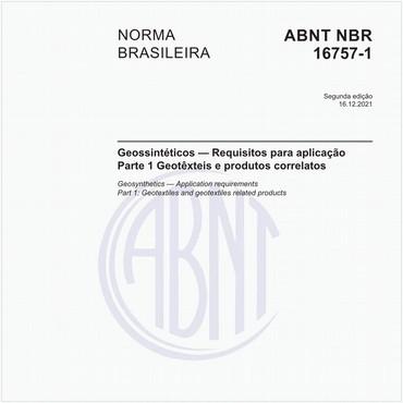 NBR16757-1 de 01/2020