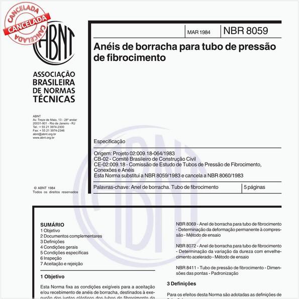 NBR8059 de 08/2009