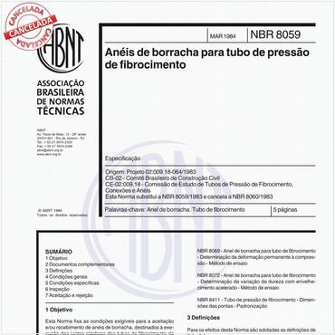 NBR8059 de 03/1984