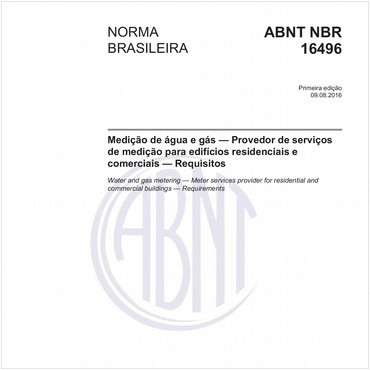 NBR16496 de 08/2016