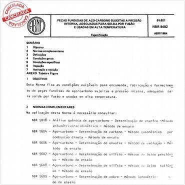 NBR8482 de 04/1984