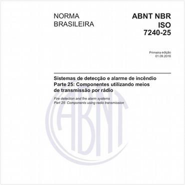 NBRISO7240-25 de 09/2016
