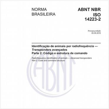 NBRISO14223-2 de 09/2016