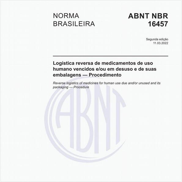 Logística reversa de medicamentos de uso humano vencidos e/ou em desuso - Procedimento