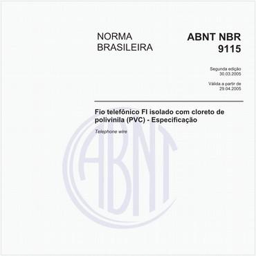 NBR9115 de 03/2005