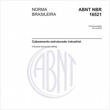 NBR16521 de 10/2016