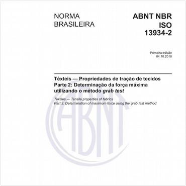 NBRISO13934-2 de 10/2016