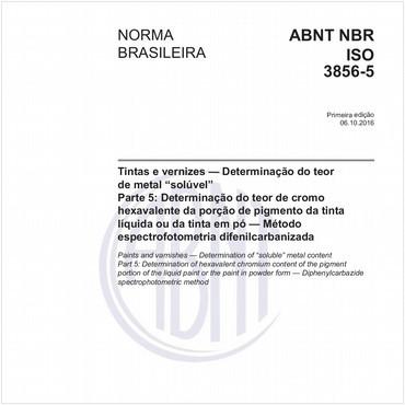 NBRISO3856-5 de 10/2016
