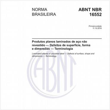 NBR16552 de 10/2016