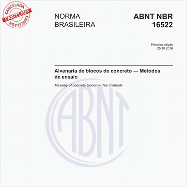 NBR16522 de 10/2016