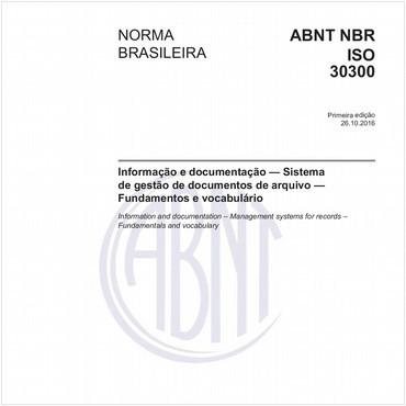 NBRISO30300 de 10/2016