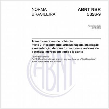 NBR5356-9 de 11/2016