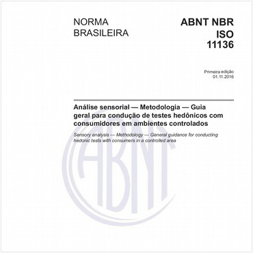 NBRISO11136 de 11/2016