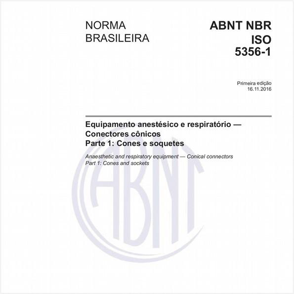Equipamento anestésico e respiratório — Conectores cônicos - Parte 1: Cones e soquetes